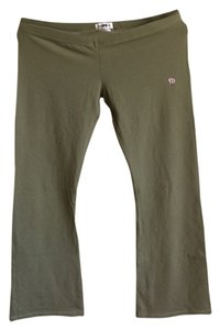 Space FB Francois Beauregard Yoga Stretchy Comfortable Flare Pants Olive