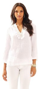 Lilly Pulitzer Linen Linen Tunic