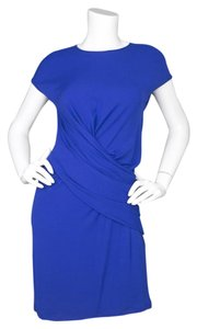 Michael Kors Cobalt Cap Sleeve Dress