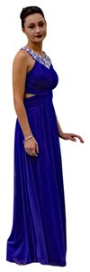 B. Darlin Purple/Blue Cut-out Dress