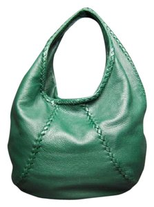 Bottega Veneta Hunter Cervo Leather Shoulder Hobo Bag
