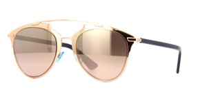 Dior Rose Gold Reflected Mirrored Sunglasses 3210R