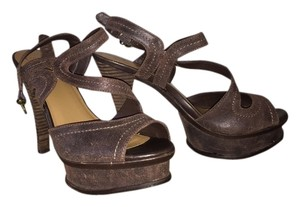 Fergie Brown Sandals