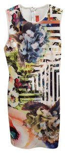 Clover Canyon Bodycon Floral Neoprene Dress