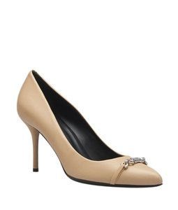 Gucci Leather Beige Pumps