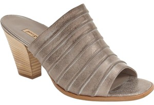 Paul Green Bootie Wedge Mules SMOKE NUBUCK Sandals