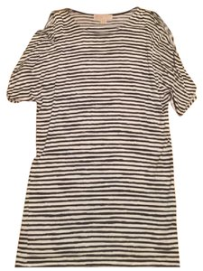 Michael Kors Top navy and white striped