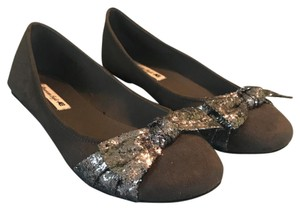 American Eagle Outfitters Grey Flats