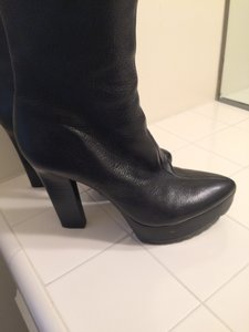 Calvin Klein Black leather Boots