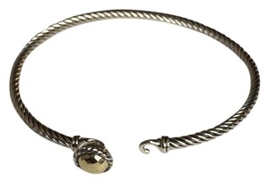 David Yurman David Yurman Chatelaine Bracelet with 18k Gold Dome