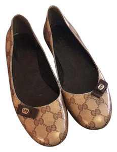 Gucci Beige-brown Flats