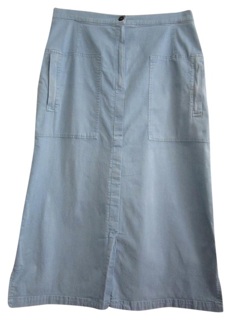 Item - Light Lightweight Wash Denim Skirt Size 10 (M, 31)