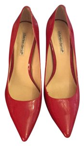 Charles David Red Pumps