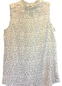 Miss Love Top Black and white polka dots