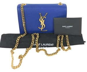 Saint Laurent Calfskin Luxury Cross Body Bag