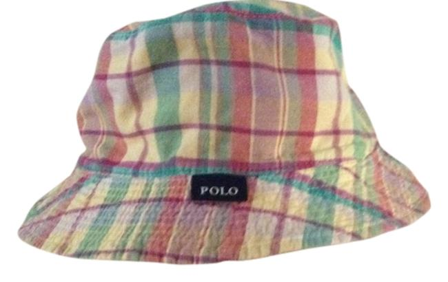 Item - Light Green Peach Purple Yellow Polo By Summer Hat