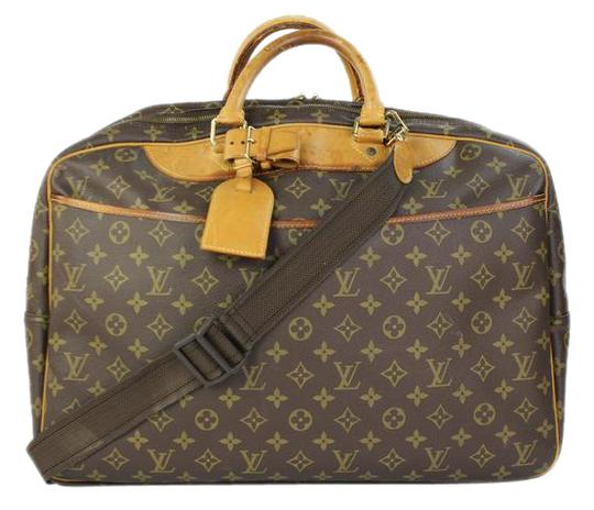 louis vuitton alize poches 2way 24lvty51717 monogram leather weekend