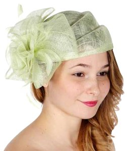 kentucky derby hat Rose bow sinamay pillbox Hat