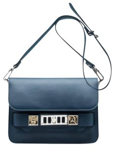 Proenza Schouler Silver Hardware Classic Leather Night Out Date Night Cross Body Bag