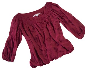 Studio M Top maroon