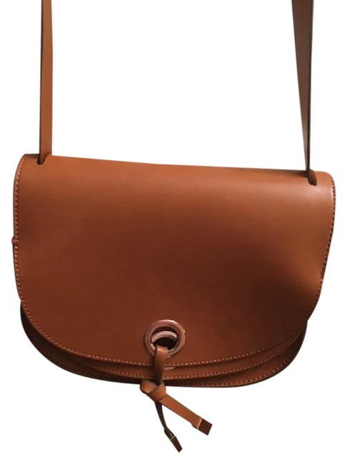 Item - Perfect For Vegans Brown Polypropylene Satchel