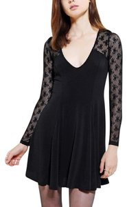 Kimchi Blue short dress Black Lace Skater Urban Outfitters on Tradesy