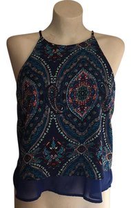 Charlotte Russe Top blue