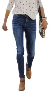 Citizens of Humanity Hi Rise Skinny Denim Skinny Jeans-Medium Wash