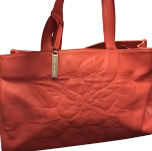 Anne Fontaine Tote in Bright peach