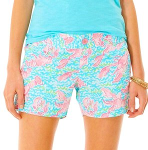 Lilly Pulitzer Dress Shorts Multi (Blue, Pink, Green, White)