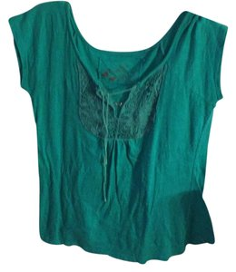 One Step Up T Shirt turquoise
