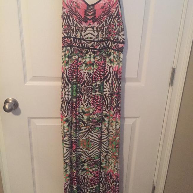 Multi Maxi Dress by Topshop Image 1