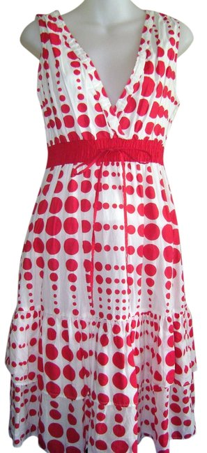 Preload https://img-static.tradesy.com/item/2139420/chaudry-white-with-red-polka-dots-summer-party-date-night-knee-length-short-casual-dress-size-8-m-0-0-650-650.jpg