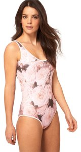 Wildfox Brand New Wildfox One Piece Swimsuit With Rose Print