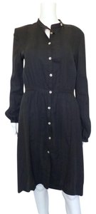 Billy Reid short dress Black Bohemian Peasant on Tradesy