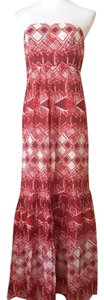 red Maxi Dress by The Limited