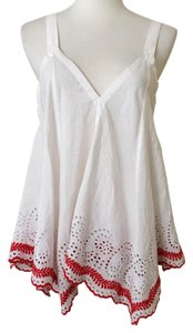Patterson J. Kincaid Top white & red
