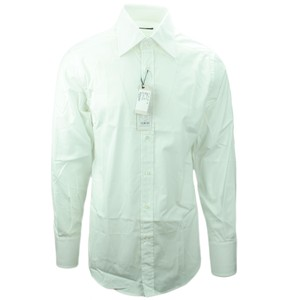 Gucci 145380 Fitted Shirt Button Down Shirt White