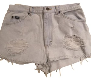 Lee Cut Off Shorts light blue