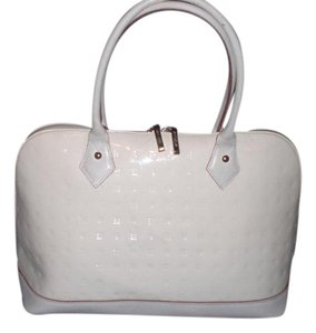 Arcadia Satchel in White