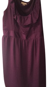 Loft Purple Dress Dress