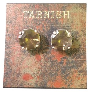 Tarnish Gemstone Earrings
