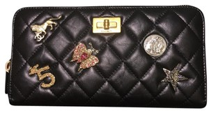 Chanel BN Pre Fall 17/18 Chanel Charm 2.55 Long Zipped Around Wallet