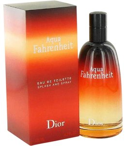 Dior AQUA Fahrenheit by Dior 4.2 oz/ 125 ml EDT Spray Men's ,New !!