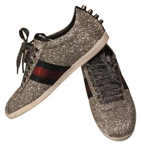 Gucci silver Sparkle Athletic