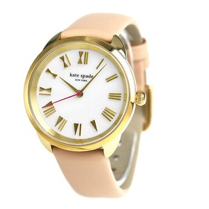 Kate Spade Kate Spade New York Women's gold-tone crosstown watch KSW1247