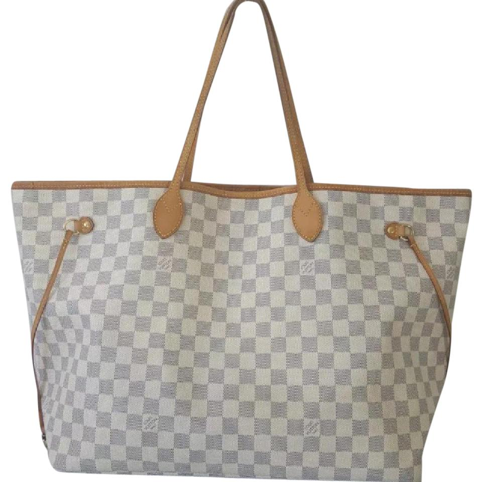 Louis Vuitton Neverfull Gm Azur Damier Largest Style