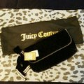 Juicy Couture Quilted Black and Silver Velvet Clutch Juicy Couture Quilted Black and Silver Velvet Clutch Image 9