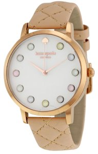 Kate Spade KateSpade New York Women's Rose Gold and Brown Leather Watch KSW1069