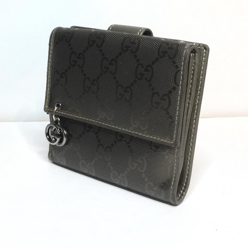 90ef96a38a00dd Gucci Gucci supreme coated pvc canvas and leather medium wallet gg monogram  Image 11. 123456789101112